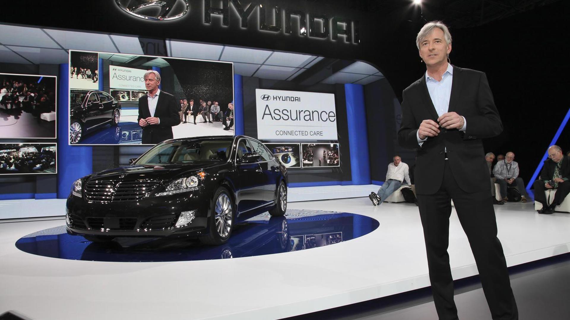 2014 Hyundai Equus arrives at NYIAS