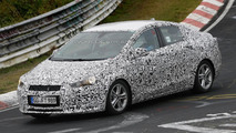 2016 Chevrolet Cruze spied on the Nurburgring
