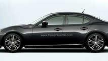 Toyota GT 86 sedan approved for production - report