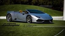 Lamborghini Huracan LP610-4 Spyder virtually envisioned