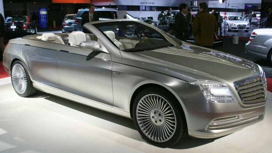 Mercedes S-Class Cabriolet in the works