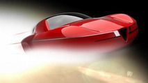 Carrozzeria Touring Superleggera Disco Volante 2012 concept teased