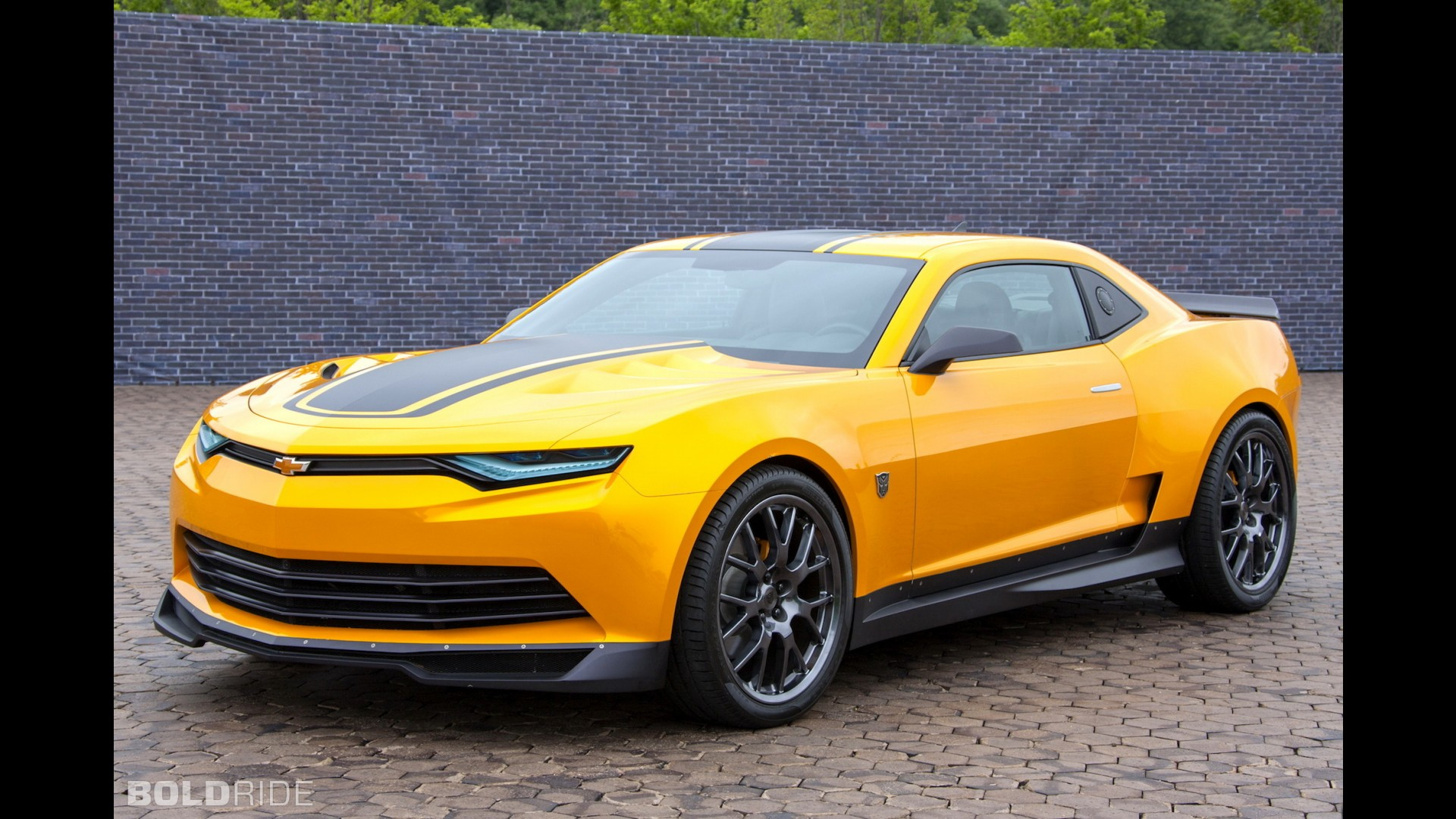 chevrolet camaro bumblebee concept. Black Bedroom Furniture Sets. Home Design Ideas