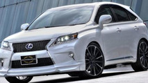 Lexus RX F SPORT visually tweaked by Wald
