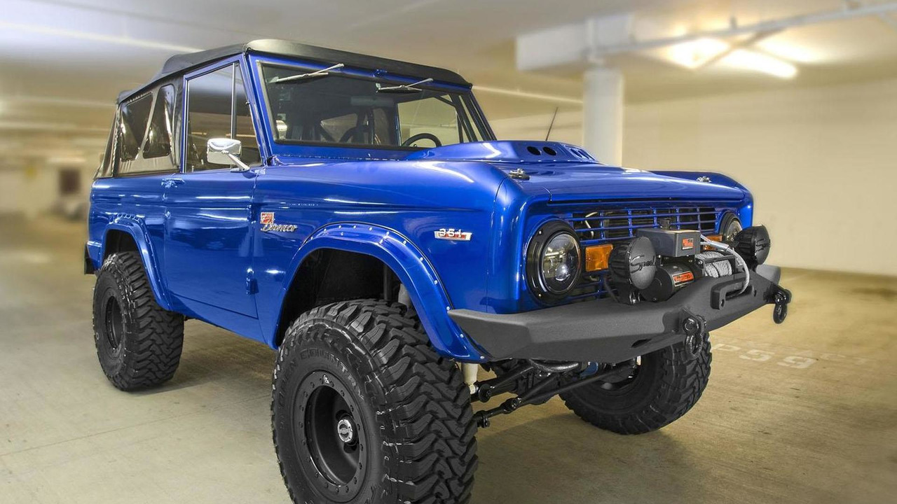 Tony Besson's 1969 Bronco 29.10.2013