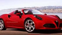 Alfa Romeo 4C Spider concept coming to Geneva - report