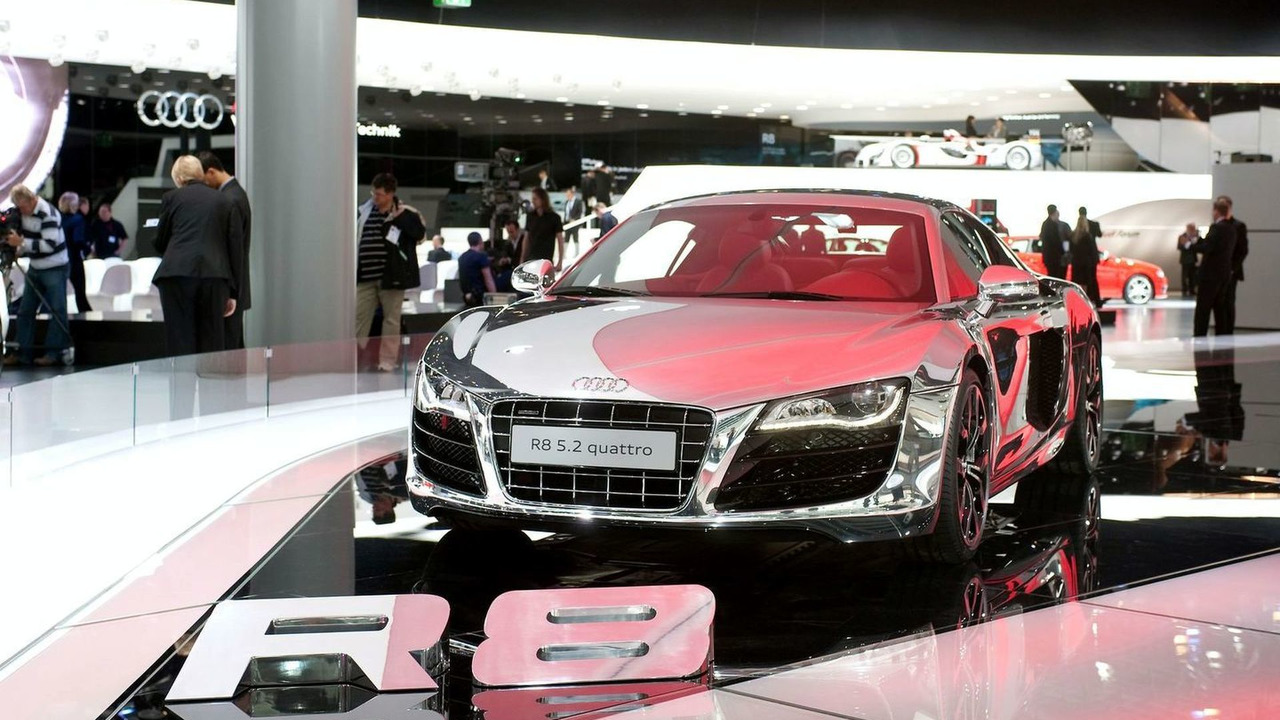 Audi R8 5.2 FSI quattro ASF prototype at IAA 2009