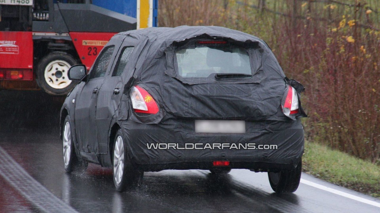 2011 Suzuki Swift spy photos in Germany 24.11.2009