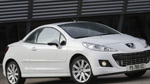 Restyled Peugeot 207 CC