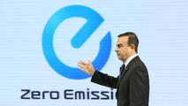 Nissan CEO Carlos Ghosn live in Tokyo