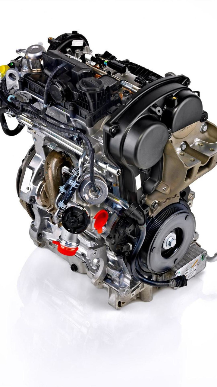 Volvo Drive-E 3-cylinder engine