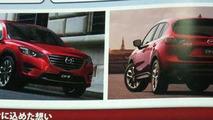 2015 / 2016 Mazda CX-5 facelift brochure leak