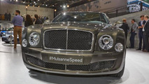Bentley Mulsanne Speed live at Volkswagen's Paris Motor Show preview evening