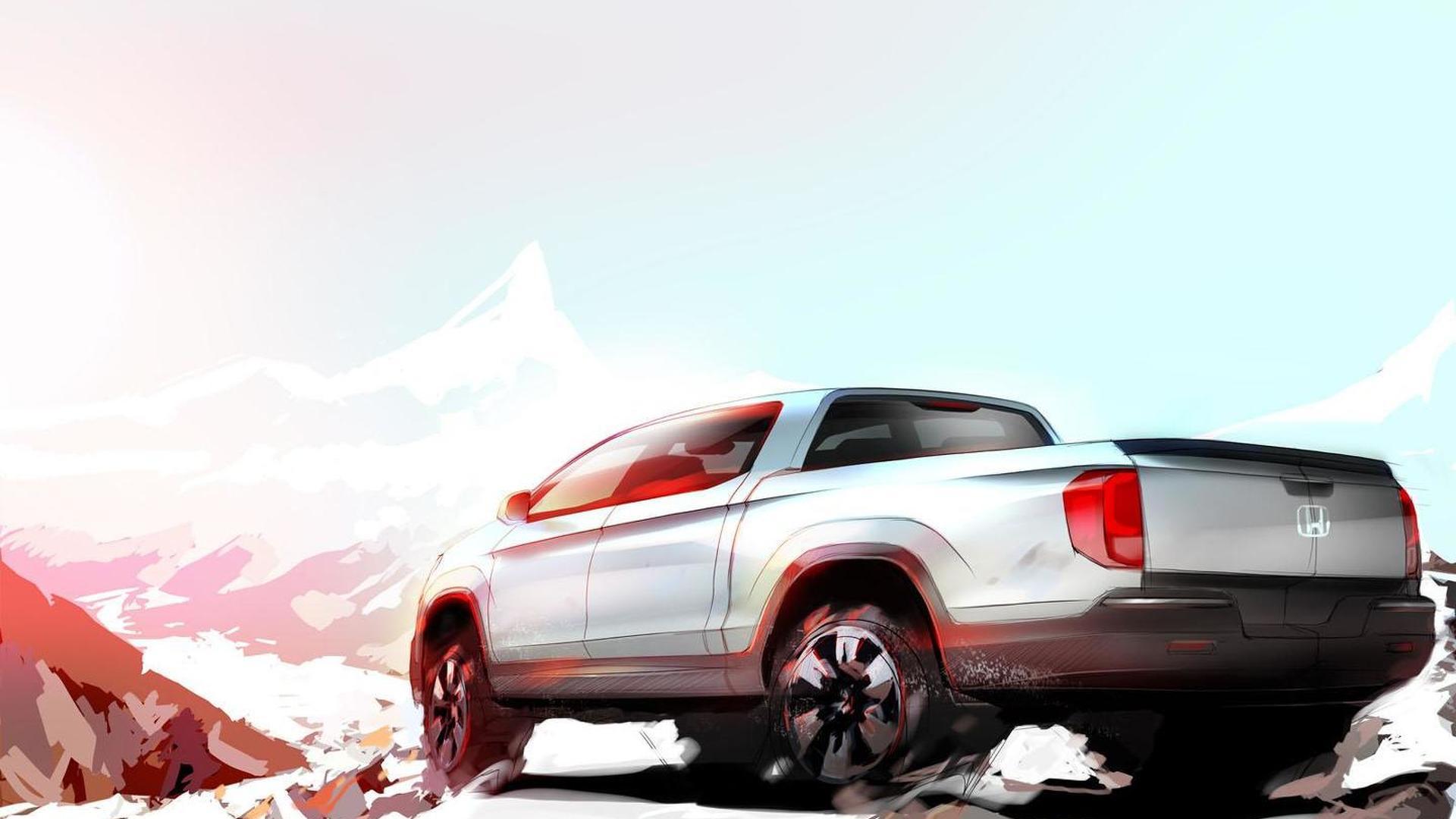 Honda Ridgeline Desert Race Truck concept headed for SEMA