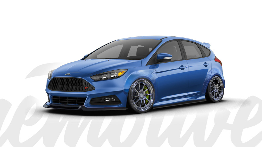 Ford's hot hatches get dressed up for SEMA