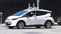 Autonomous Chevy Bolt spy photo