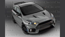 We render Ford's ultimate Focus, the rumoured RS500