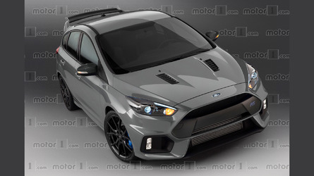 We render Ford's ultimate Focus, the rumored RS500