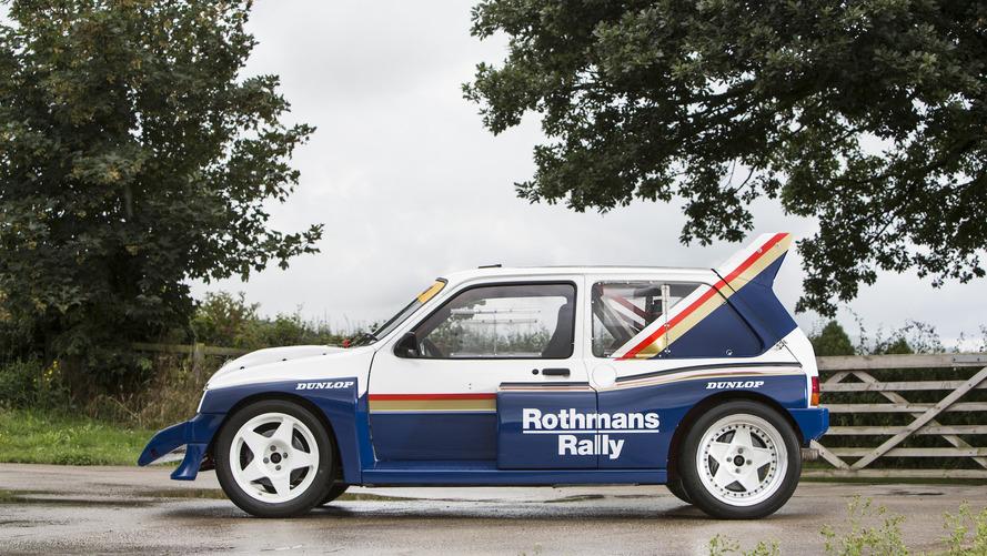 1985 MG Metro 6R4 Group B Rally Car