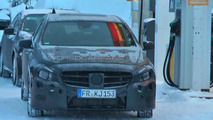 2013 Mercedes A-Class caught completely undisguised [video]