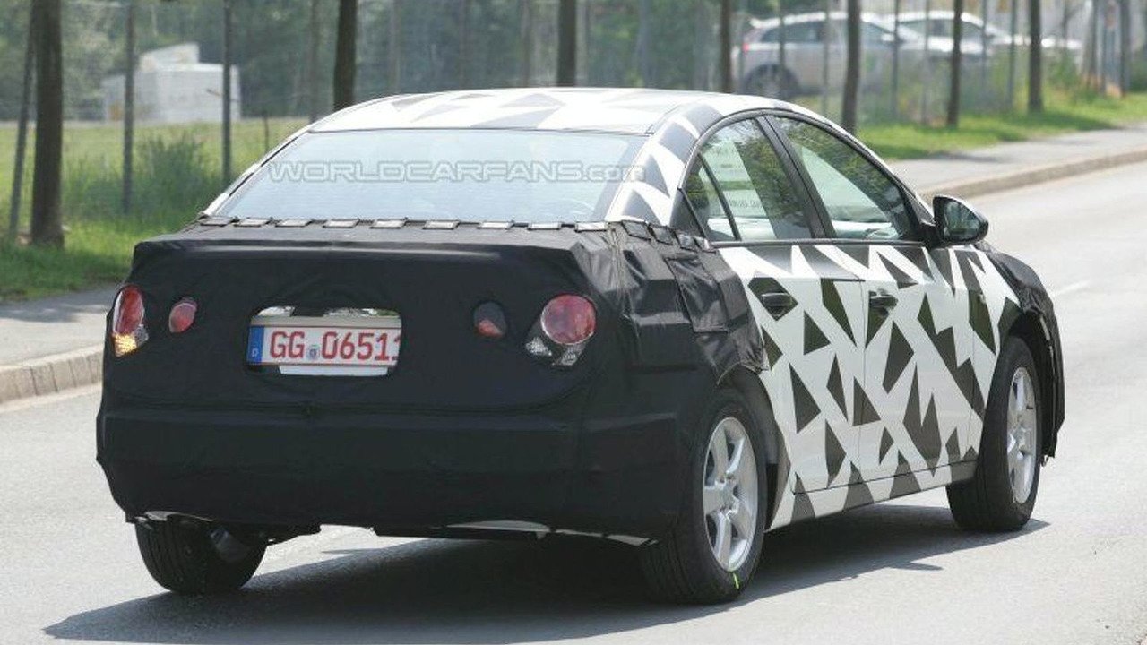 SPY PHOTOS: New Chevy Nubira