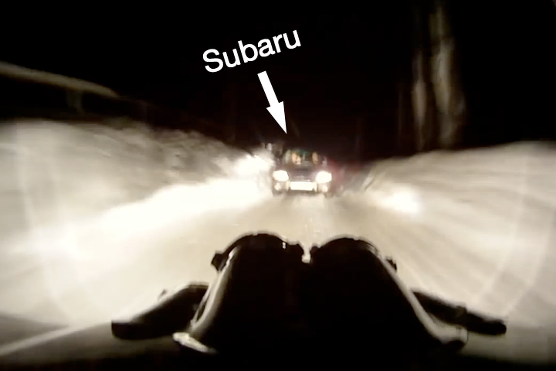 Watch this Rally Driver Encounter Unexpected Traffic
