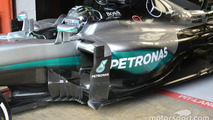 Mercedes unleashes radical barge boards