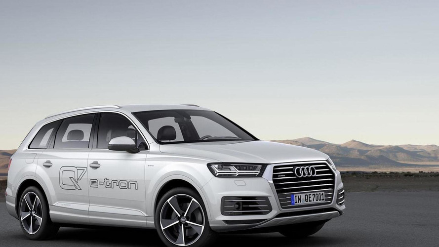 Audi Q7 e-tron quattro plug-in hybrid getting gasoline engine for US and China