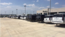 Wheels and tires stolen from 40 Cadillacs at Texas dealership