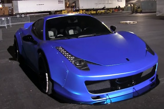 Walkaround Justin Bieber's Ferrari 458 Liberty Walk