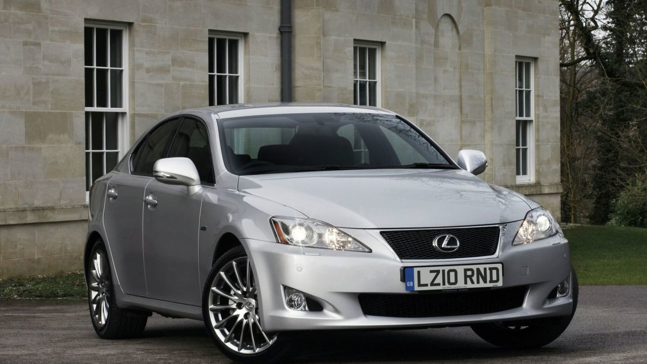 Lexus IS 250 F-Sport UK spec 09.03.2010
