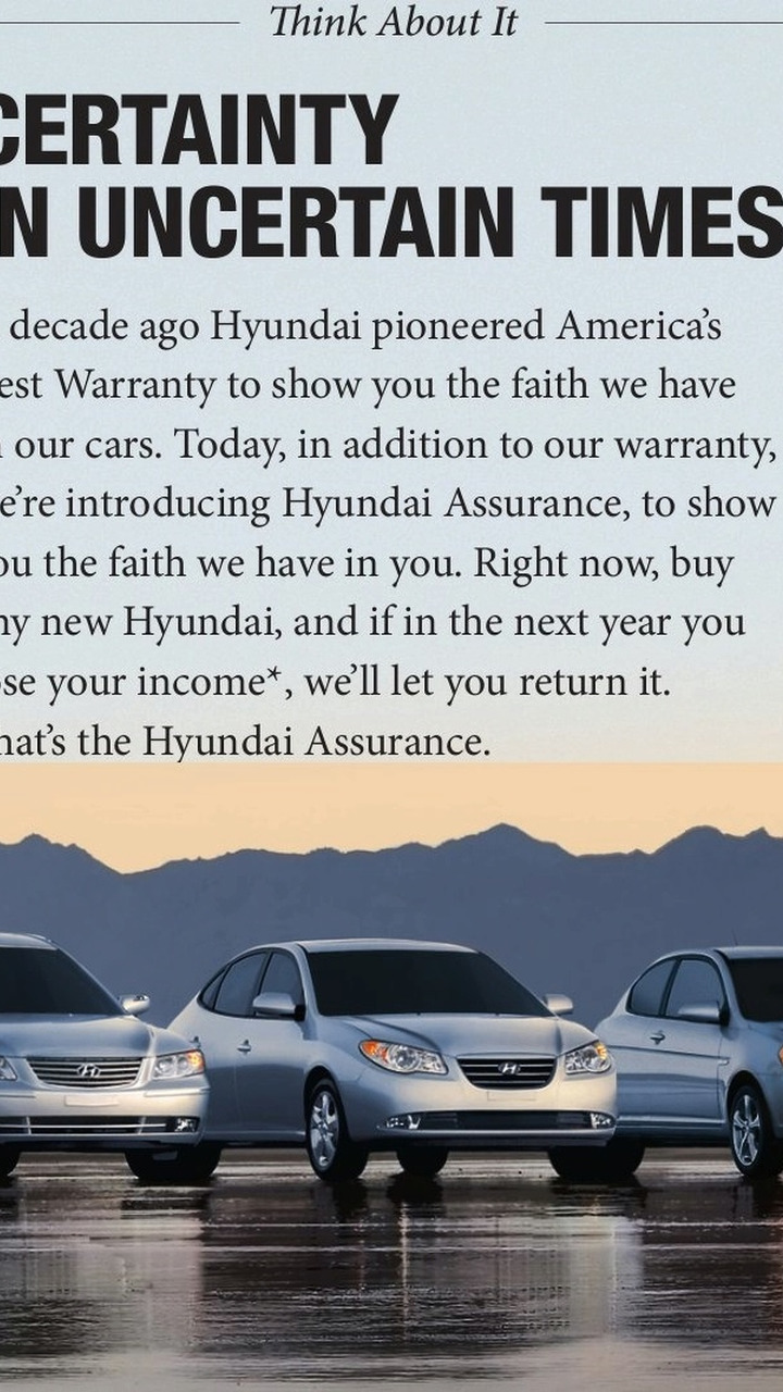 Hyundai Assurance program
