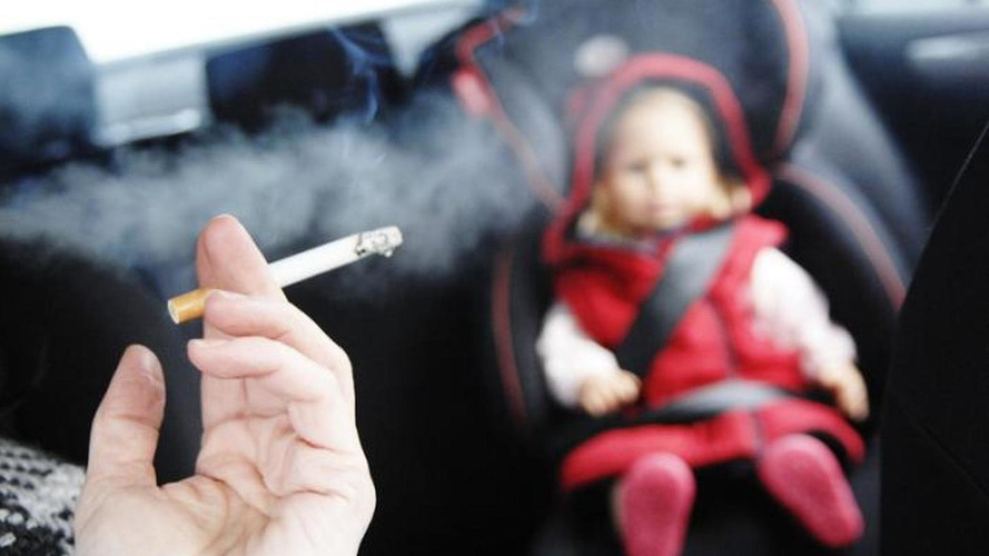 Smoking in cars carrying children will be banned in UK starting October 1