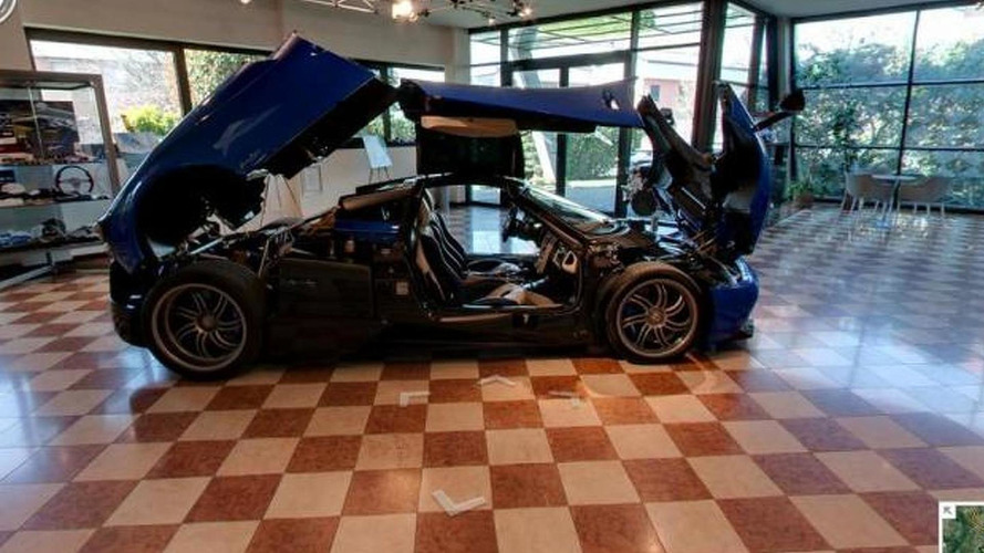 Google Street View tours the Pagani Modenese Atelier