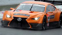 Lexus LF-CC race car caught on video