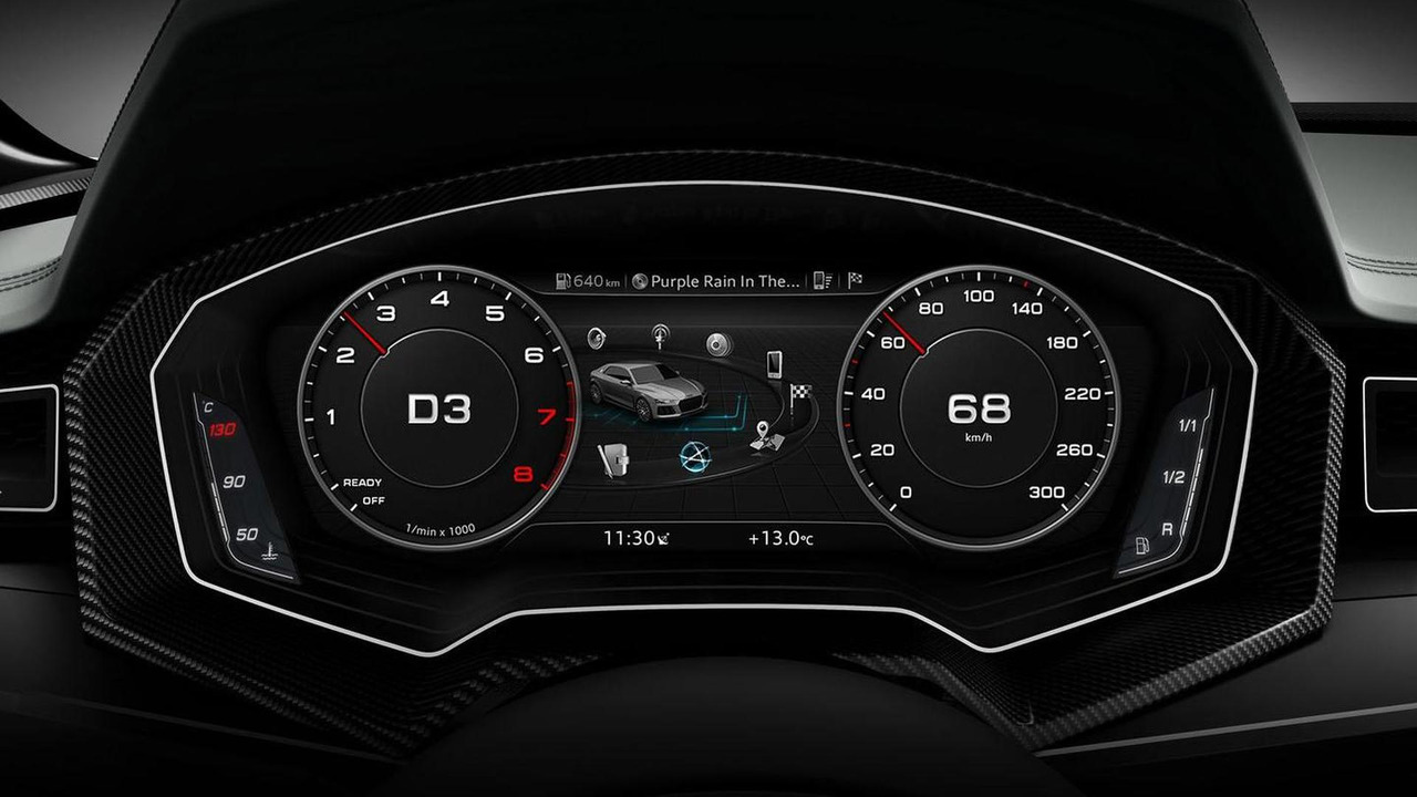 Audi virtual cockpit concept