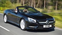 2013 Mercedes-Benz SL-Class revised for UK market