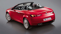 Alfa 159 Sportwagon and Alfa Spider at Geneva