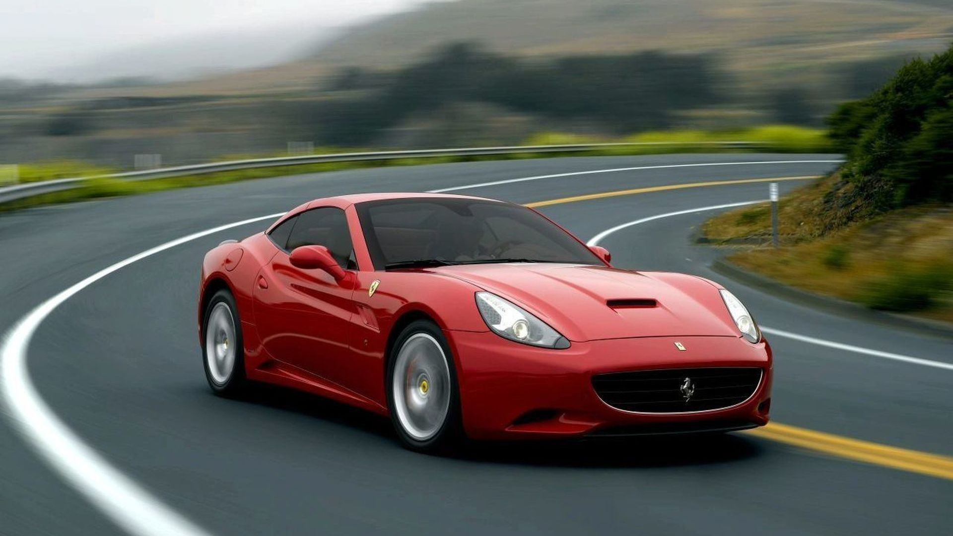 First UK Bound Ferrari California gets Special 'F1 CAL' Licence Plate