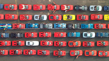 Ferrari attempting to set world record for largest Ferrari parade