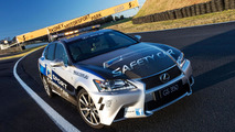 Lexus GS 350 F Sport safety car revealed in Australia