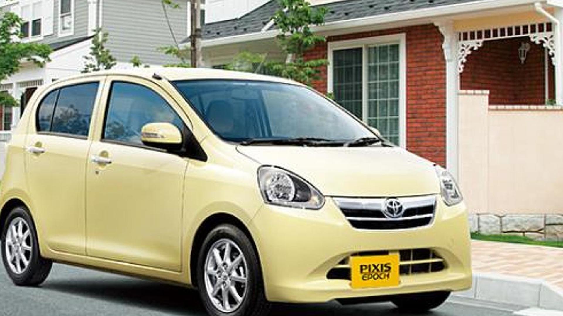 Toyota Pixis Epoch revealed (JDM)