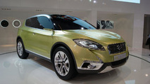 Suzuki S-CROSS concept debuts at Paris Motor Show
