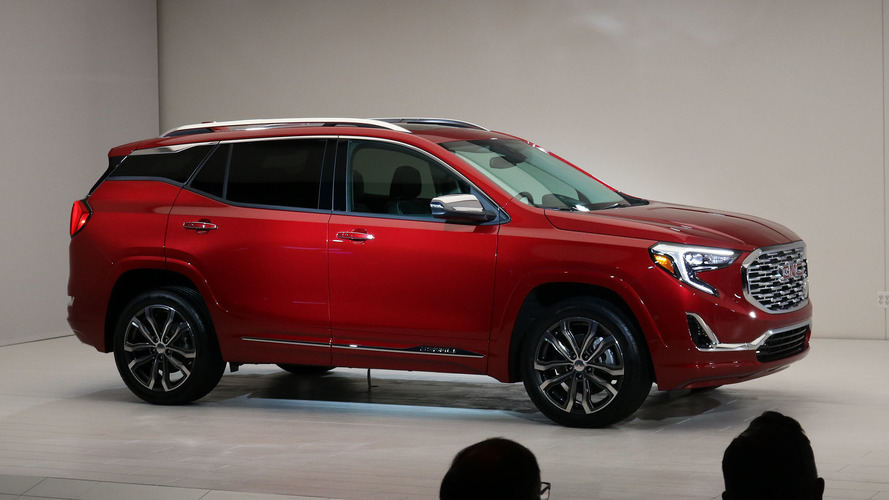 2018 GMC Terrain adopts sleeker design, turbocharged engines