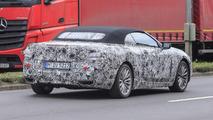 BMW 6 Series Convertible spy photo