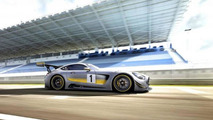 Mercedes-AMG GT3 first revealing images published