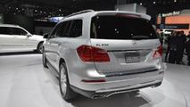 2013 Mercedes-Bez GL-Class live in New York 04.04.2012