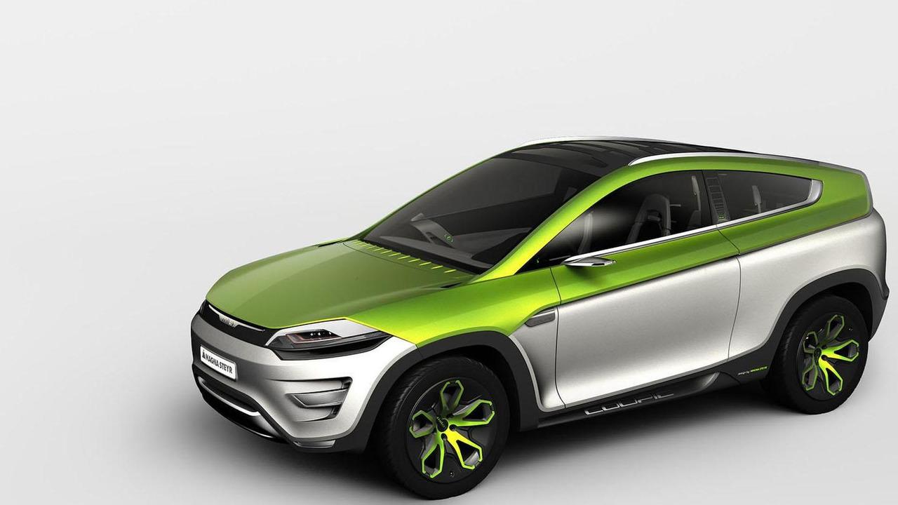 Magna Steyr MILA Coupic concept 28.2.2012