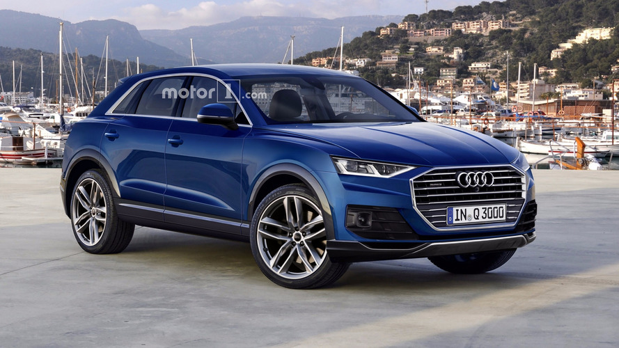 We imagine a grown up 2018 Audi Q3