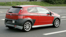 Fiat 500 & Grande Punto Abarth Spy Photos